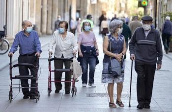 Cae cada día una media de tres pensionistas en la provincia