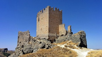 Castillo de Oreja situado en Ontígola.