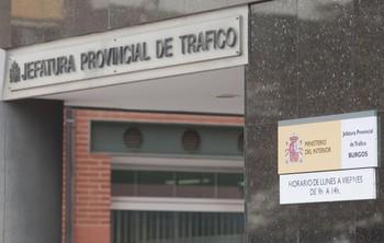 La Jefatura Provincial de Tráfico se encuentra en la calle Segovia de la capital burgalesa.