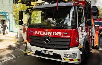 Quince heridos en el incendio de un piso en Barcelona