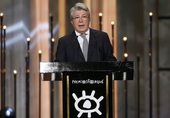 El presidente de EGEDA, Enrique Cerezo