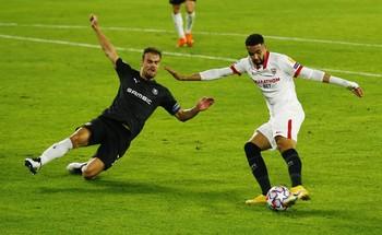 El Sevilla perdona la goleada