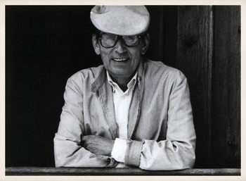 El escritor vallisoletano Miguel Delibes.