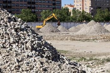 La demolición de Artillería está casi concluida.