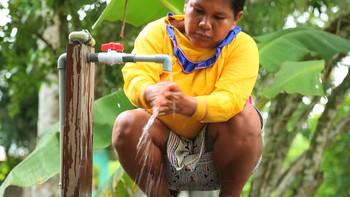 Aquae y UNICEF, con la población indígena frente a la COVID-19
