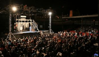 Representación teatral de Olmedo Clásico, que este año no se ha celebrado por la covid-19.