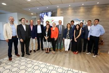 Junta directiva de Vitartis, clúster que promueve el proyecto Mencía.