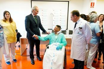 Un hito en cirugía cardíaca en España