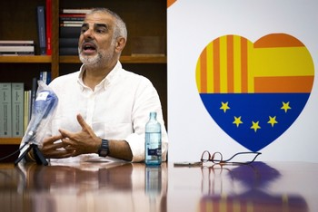 El presidente del grupo de Ciudadanos en el Parlamento de Cataluña, Carlos Carrizosa