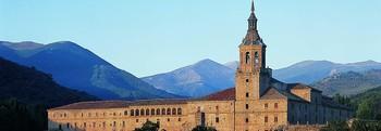 Imagen del monasterio de Yuso, en San Millán de la Cogolla, considerada la cuna del castellano.