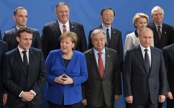 La Conferencia sobre Libia en Berlín acuerda alto el fuego