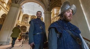 Viso del Marqués salió en la última temporada de 'El Ministerio del Tiempo' como el antiguo Alcázar de Madrid.