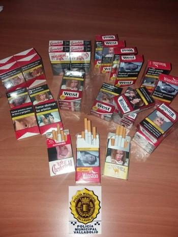 Denunciado un quiosquero por vender cigarrillos sueltos