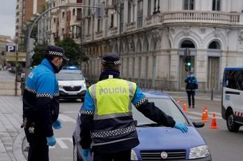 El Ayuntamiento de Valladolid eleva a 14 la cifra de policías contagiados, con 28 en aislamiento