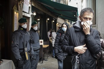 Italia confirma un tercer muerto por coronavirus