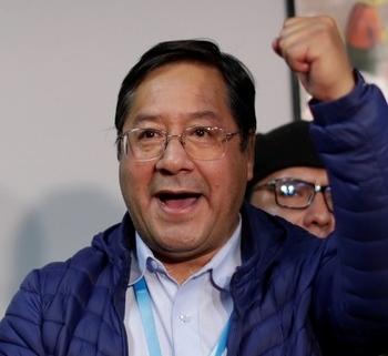 Triunfo del partido de Evo Morales en Bolivia