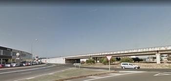 Imagen de la rotonda del Soto Galo, donde ha ocurrido el accidente.