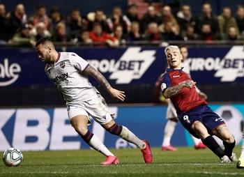 Osasuna gana al Levante pero pierde a Chimy Ávila por lesión