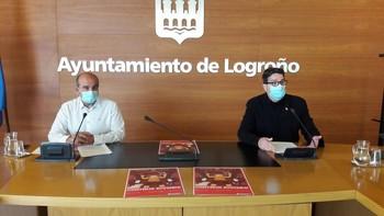 Rueda de prensa de Kilian Cruz-Dunne y Alberto Martínez.