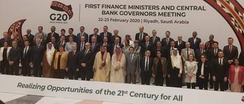 El G-20 aprecia un repunte económico mundial para 2020