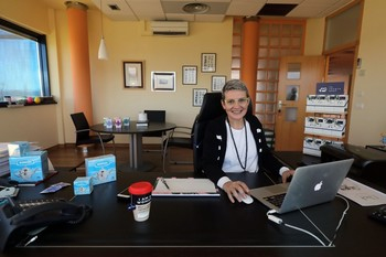 Beatriz Escudero, presidenta de Vitartis, colectivo que promueve el proyecto Mencía.