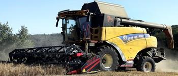 La velocidad de las cosechadoras modernas es un problema para la fauna.