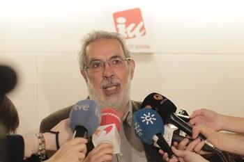 Afiliados de IU-CLM, en contra de su disolución en Podemos