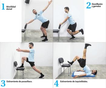 En forma en casa (10) Movilidad, flexibilidad y estiramiento