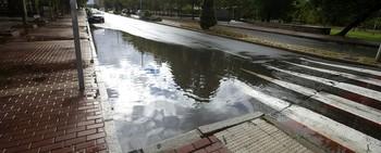 El puerto de El Pico y Candeleda acumulan la lluvia caída