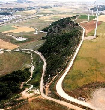 Imagen de archivo de la cuesta del Chivo de Palencia.