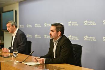 Ricardo Velasco, gerente de la Fundación Rioja Salud,  informa sobre el gestor de autoevaluación de la COVID-19