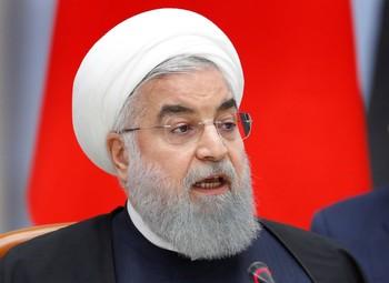 El presidente iraní, Hasán Rohuaní.