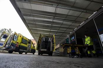 Acceso a Urgencias del Complejo Hospitalario de Albacete.