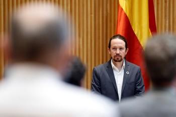 Iglesias acusa a Vox de