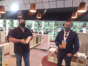Iván Sáenz y Ricardo Hernández son presidente y miembro de la junta de  Arnedo Shopping Factory
