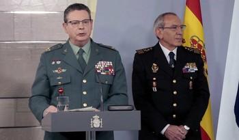 El ex 'número dos' de la Guardia Civil se reúne con Robles