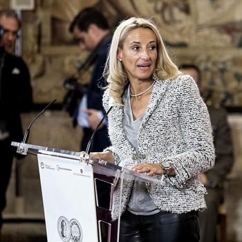 María Helena Antolín, presidenta de Sernauto y vicepresidenta de la multinacional burgalesa Grupo Antolín.