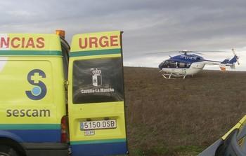 Un fallecido y un herido tras volcar el vehÁculo en el que viajaban en la A-43 en Carrión de Calatrava (Ciudad Real)