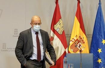 El vicepresidente de la Junta, Francisco Igea.
