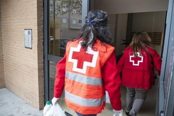 6.000 familias comen en el confinamiento gracias a Cruz Roja