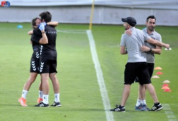 Manu González renueva como entrenador de la Segoviana
