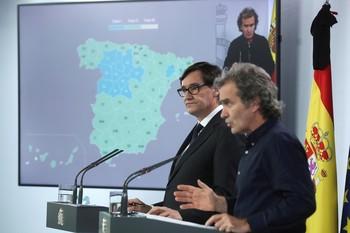 El 70% de la población española estará el lunes en fase 2