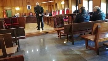El acusado, en el momento de declarar en la Audiencia