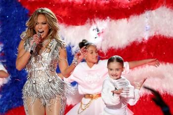 Jennifer López comparte el momento más íntimo de la Super Bowl