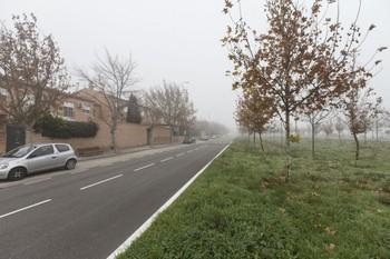 El suceso ocurrió en una rotonda de la avenida del Madroño.