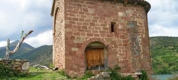 Imagen del templo románica de Santa Catalina.