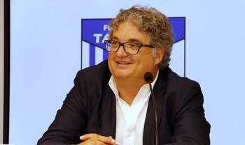 Santi Ramos, presidente del Soliss FS Talavera.