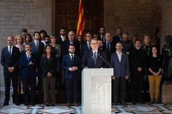 El Govern escoge a su delegación para la mesa de diálogo