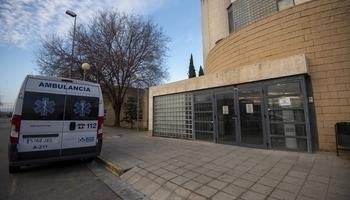 La mujer fue trasladada al servicio de Urgencias de la Fundación Hospital de Calahorra