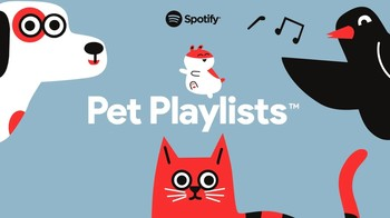 Spotify te ayuda escoger la mejor 'playlist' para tu mascota